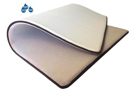 Amazon.com: Grueso Confort Micro felpa forro polar beige ...