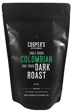 Colombian Dark Roast frijoles de café, micro Lot Origen ...