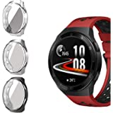 Compatible for Huawei Watch GT 2e Case, Blueshaw All-Around Protective TPU Bumper Cover Screen Protector Case Cover Compatibl