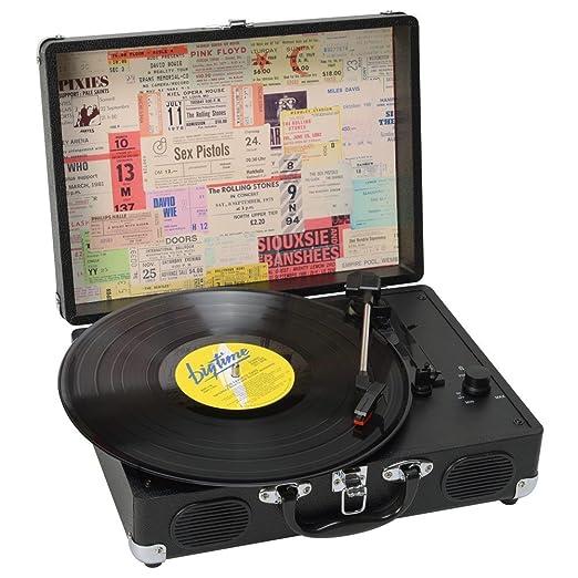 Tocadiscos Urban Retro Convierte a MP3: Amazon.es: Hogar