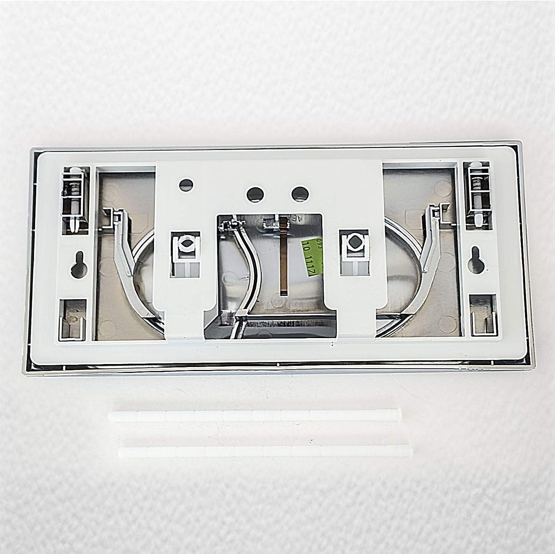 880mm Flushplate Ideal Standard E4434AA in-Wall Frame 820