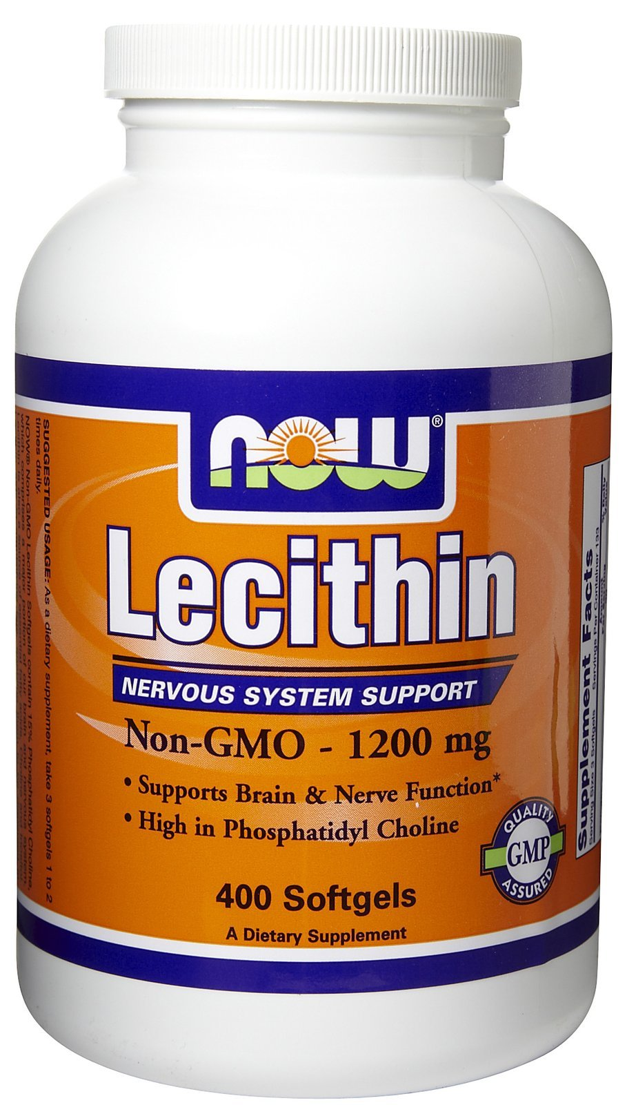 Now Foods Lecithin 19 Grain, 400 softgels / 1200mg ( Multi-Pack)