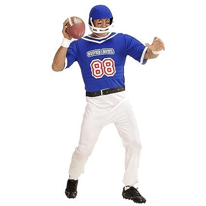 WIDMANN ? Disfraz para Adultos, Fútbol Americano Jugador, Mono y ...