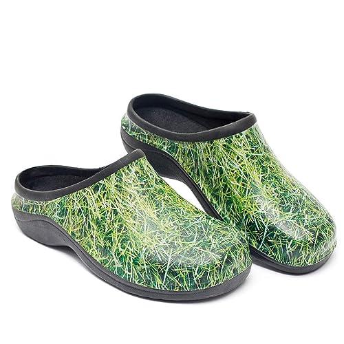 873e53025e71 Backdoorshoes® Womens Comfortable Slip On Garden Clogs Shoes  Amazon ...