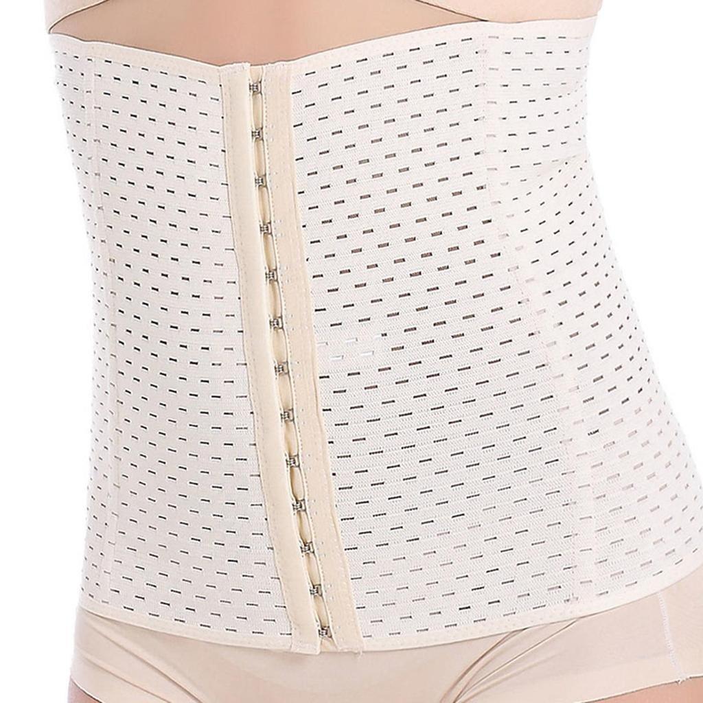 Everbellus Breathable Latex Corset Training Waist Cincher for Women C01F