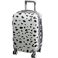 Valigia cabina A2S leggera e resistente valigia rigida con 8 ruote filanti borsa da trasporto (aeroplani) orsacchiotto di peluche 55x35x20cm