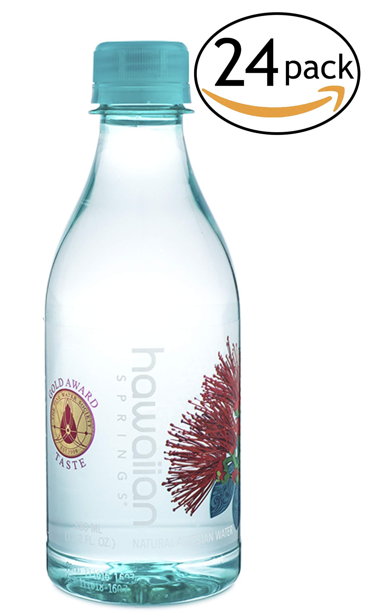 Hawaiian Springs Artesian Water, 25.36-Ounce (Pack of 15) by Hawaiian Springs