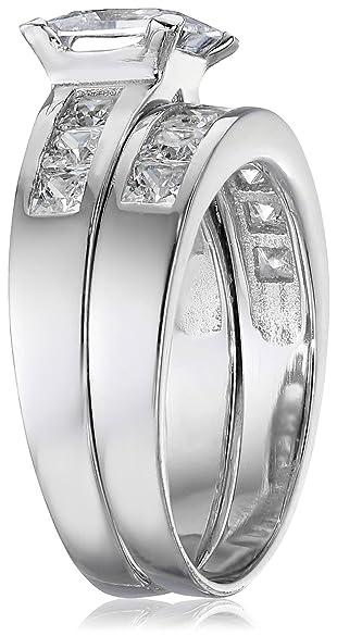 Mens Hunting Wedding Rings 44 Fabulous Amazon Carat Radiant CZ