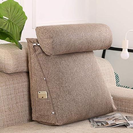 Cojines sofas Cojines cama Sofa cushion Almohada de cuña ...
