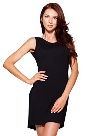 e9758e48597abf Elegantes Damen Negligé Nachthemd in schwarz mit edler Spitze S ...