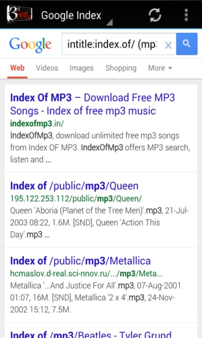 Amazon com: MP3 Search Engine Master: Appstore for Android