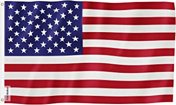 Free Walker 3x5-Feet Outdoor US Flag (Breeze Style)