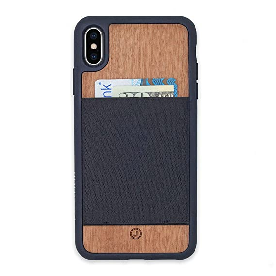 38503061546b Image Unavailable. Image not available for. Color  JIMMYCASE iPhone X Xs Wallet  Case ...