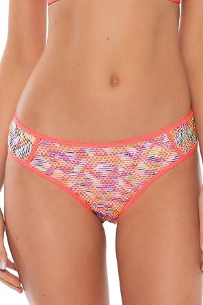 BECCA by Rebecca Virtue Color Code Water Tie Basic Bikini Bottom