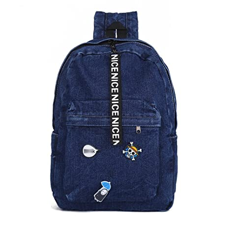 3bb7cbd0f Amazon.com: zijie Fashion School Backpacks for Teen Girls Women Canvas  Backpack Classic Denim Bookbags Children Laptop Bag Jeans Backpack for  College: Toys ...