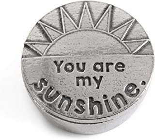 product image for Crosby & Taylor You Are My Sunshine Tiny Pewter Sentiment Box