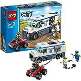 レゴ (LEGO) シティ ポリスバンとドロボウのバギー 60043