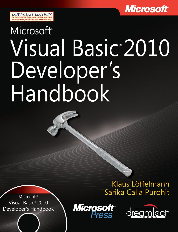 Download Microsoft Visual Basic 2010 Developer's Handbook PDF