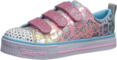 suizo Pequeño tempo  Amazon.com | Skechers Unisex-Child Twinkle Lite-Sparkle Spots Sneaker |  Sneakers