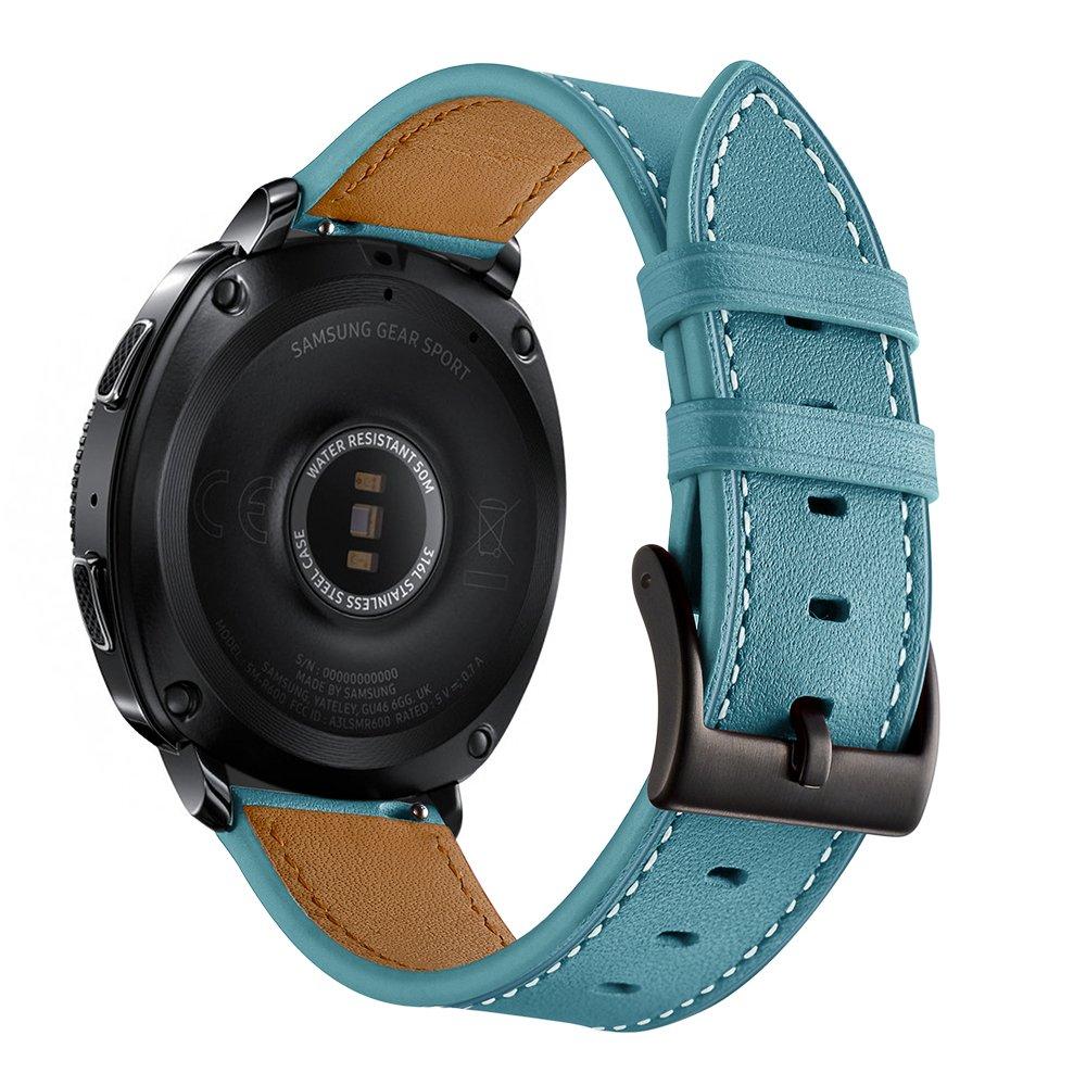 Sundaree Compatible con Galaxy Watch 42/Active2/Gear Sport Correa,20MM Genuina Reemplazo Correa Banda Pulsera Repuesto de Reloj para Samsung Galaxy ...