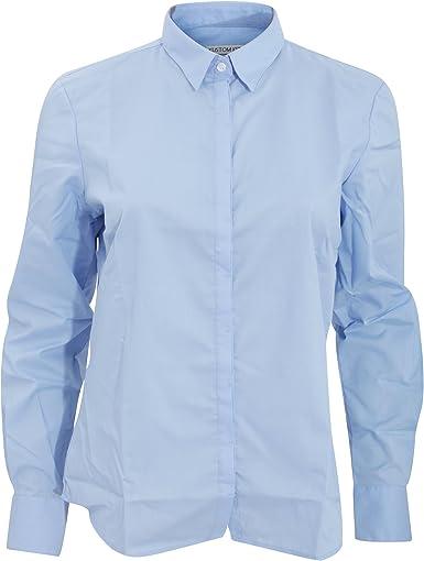Kustom Kit - Camisa de manga larga para trabajo modelo Contemporary para mujer: Amazon.es: Ropa y accesorios