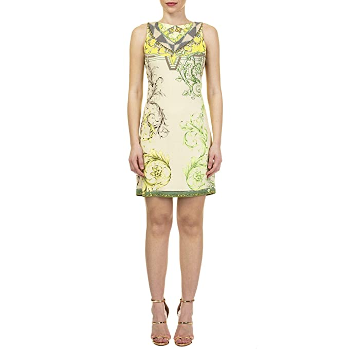 485610904c Versace Collection Mujer G35898bg604418g7529 Viscosa Vestido  Amazon.es   Ropa y accesorios