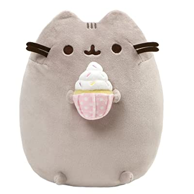 "GUND Pusheen Snackables Sprinkled Cupcake Plush Stuffed Cat, 9.5"": Toys & Games"