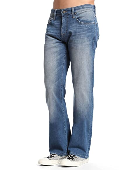 Mavi Mens Zach Mid Used Williamsburg Jean Jeans