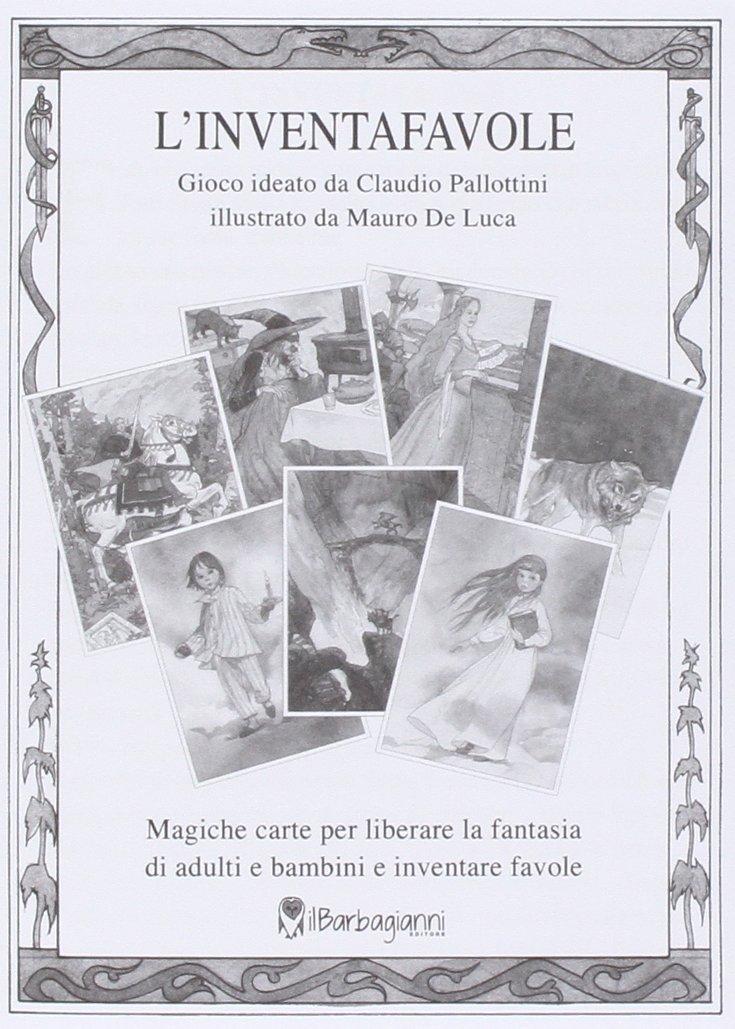 Linventafavole Amazonit Claudio Pallottini Mauro De Luca Libri