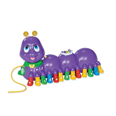LeapFrog Alphabet Pal® Caterpillar (Colors May Vary): Toys & Games
