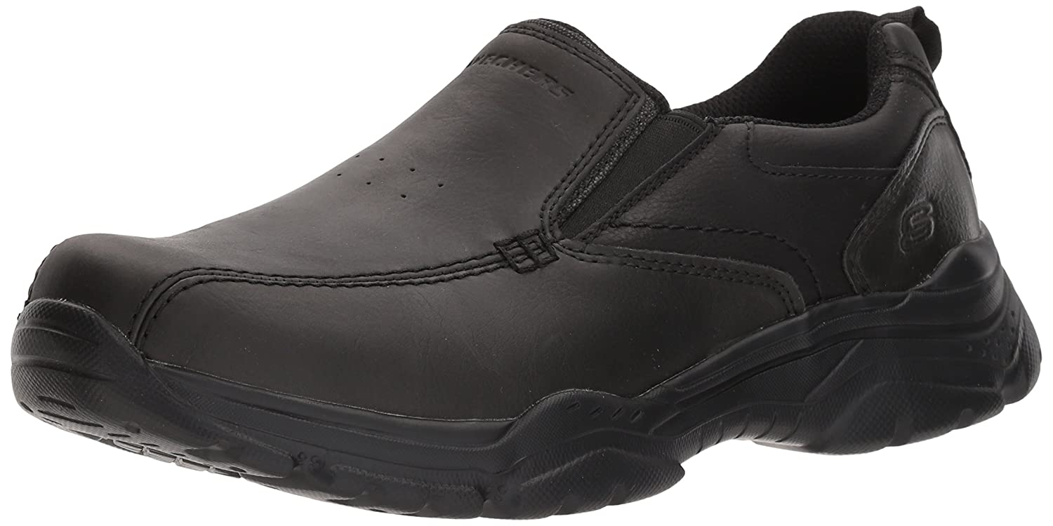 e2979d40cfd99 Amazon.com | Skechers Men's Relaxed Fit-Rovato-Venten Loafer | Shoes