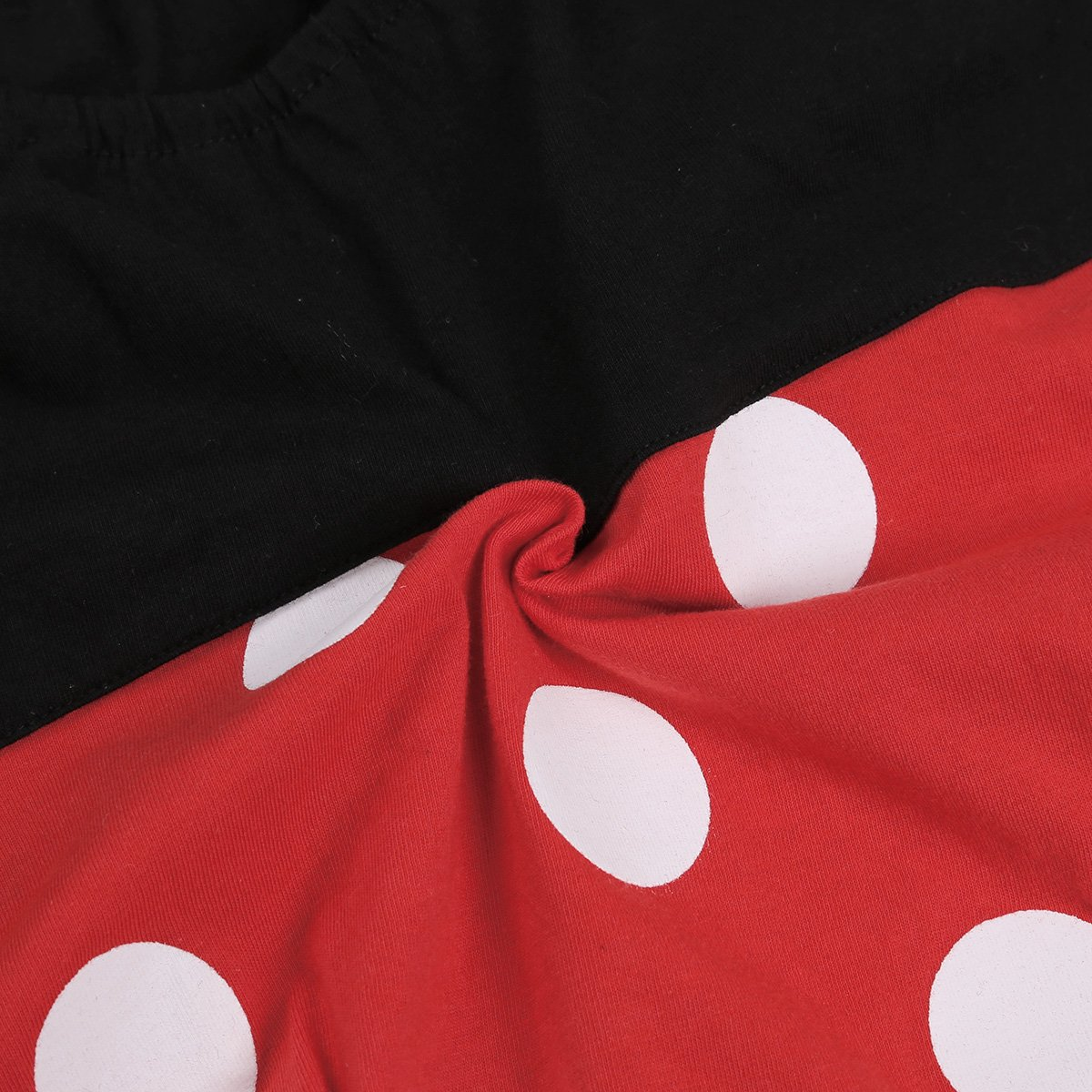 MSemis Infant Baby Boys Girls Cosplay Party Mini Mouse Costume Polka Dots Romper Playsuit with Hat Outfit Set