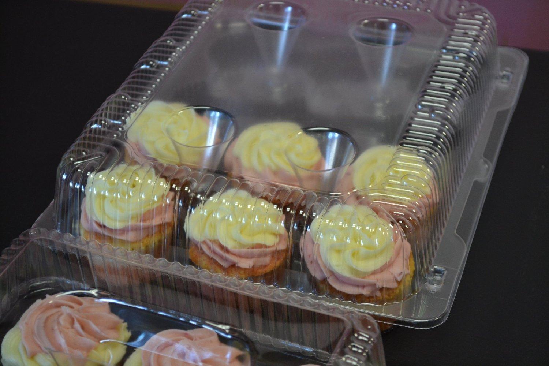 Cupcake Boxes, Cupcake Containers, 12 Pack Cupcake Containers, Set of 12,by the Bakers Pantry by The Bakers Pantry (Image #7)
