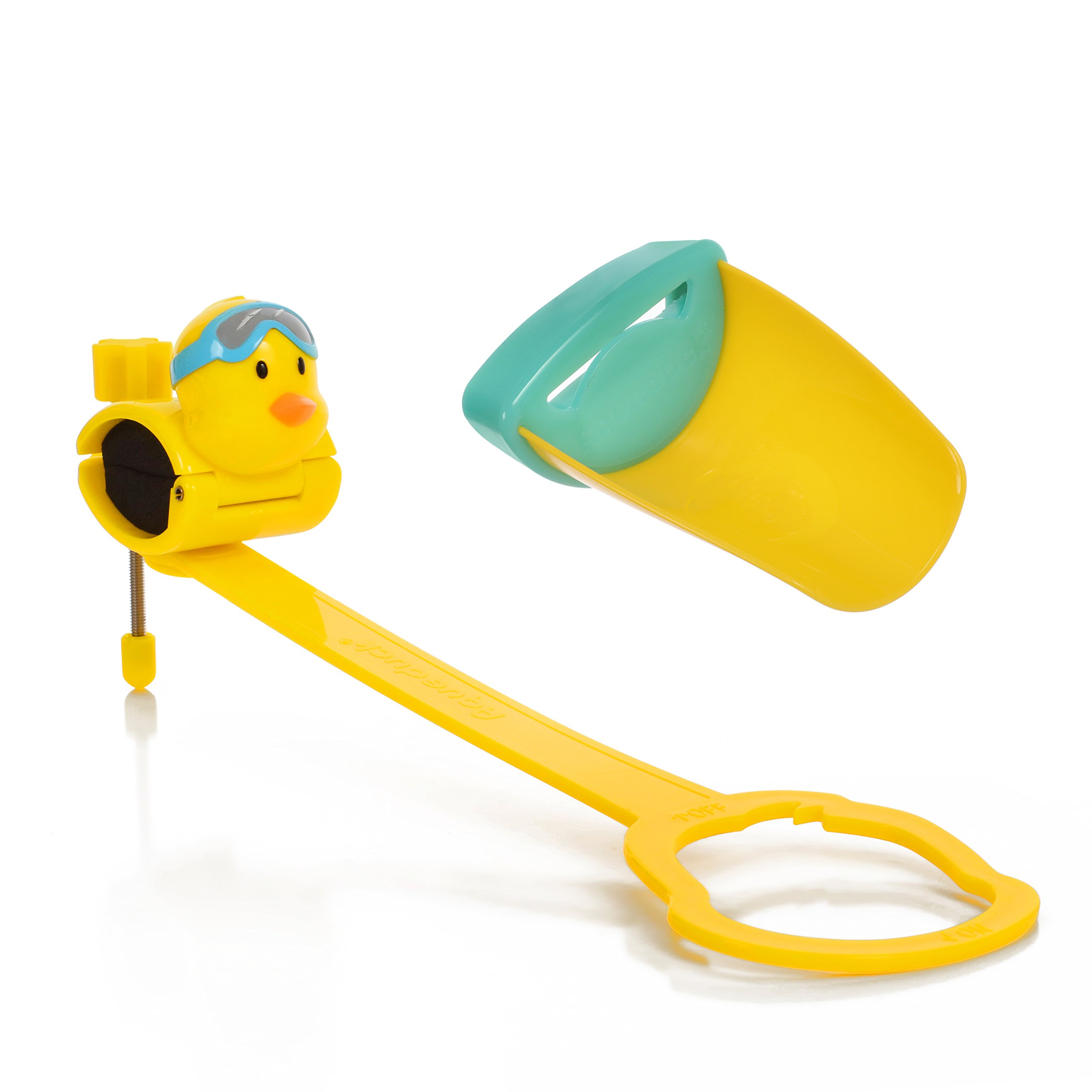 Aqueduck Faucet Handle Extender Set. Connects to Sink Handle and Faucet to Make Washing Hands Fun and Teaches Your Baby or Child Good Habits and Promote Independence to Them. by Aqueduck