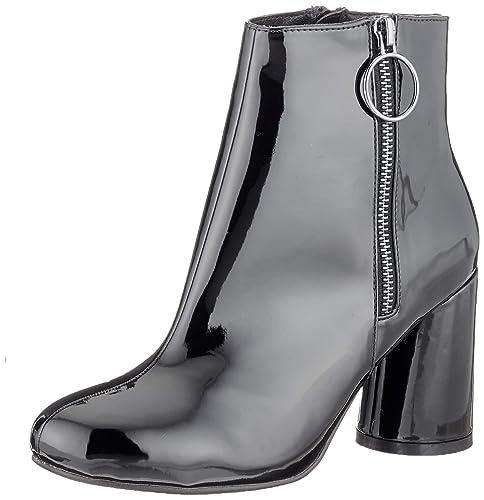 Bianco Round Heel Ankle Boot, Botines para Mujer: Amazon.es: Zapatos y complementos