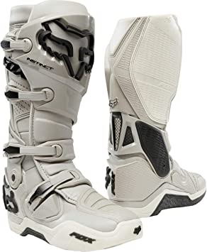 Fox Racing Instinct Mens Off-Road Motorcycle Boots Charcoal//Size 13