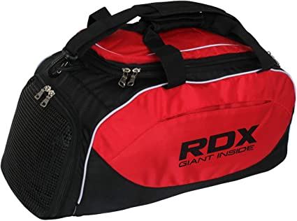 61a426cc3188 Image Unavailable. Image not available for. Color  RDX Gym Holdall Gear Bag  Backpack Duffle Kit Sports Gymsacks Rucksacks