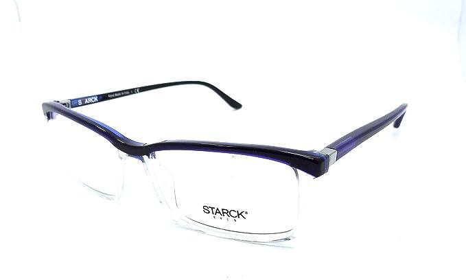 79fb5c002b9 Amazon.com  Starck Eyes Mikli Rx Eyeglasses Frames SH3037 0007 56x16 ...