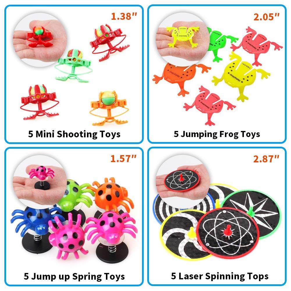 Amy & Benton Surtido de 60 juguetes para rellenar piñatas y bolsas de regalo de fiestas de cumpleaños infantiles o para el colegio: Amazon.es: Juguetes y ...