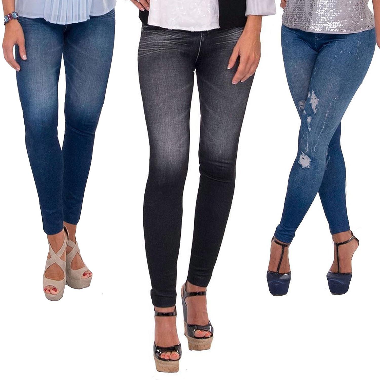 Slim jeans jeggings 3er pack