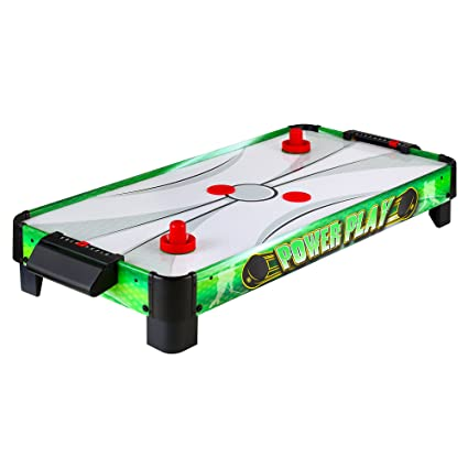 Hathaway Power Play 40 In Portable Table Top Air Hockey For Kids