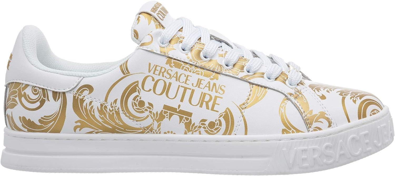 Versace Jeans Couture Hombre Fondo Court Zapatillas Bianco