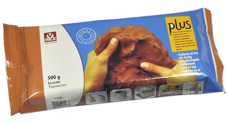 Plus 11493 Pasta per Modellare, Terracotta Cwr