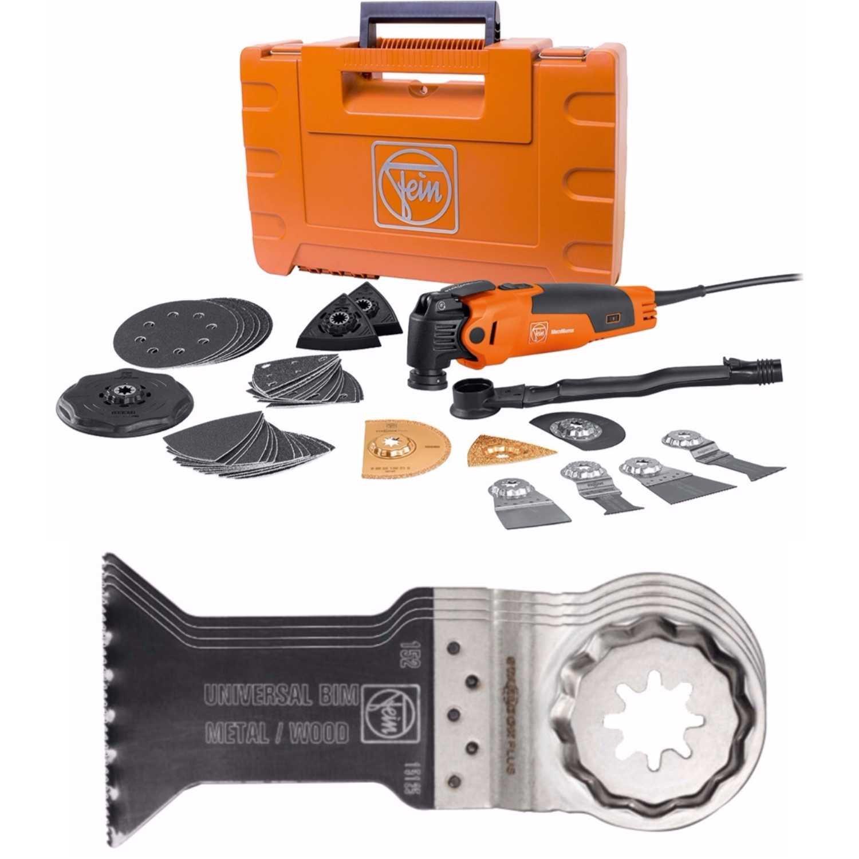 Fein 72295261090 Top Kit Starlock Oscillating Multi-Tool W/ 10 Pack Of Blades