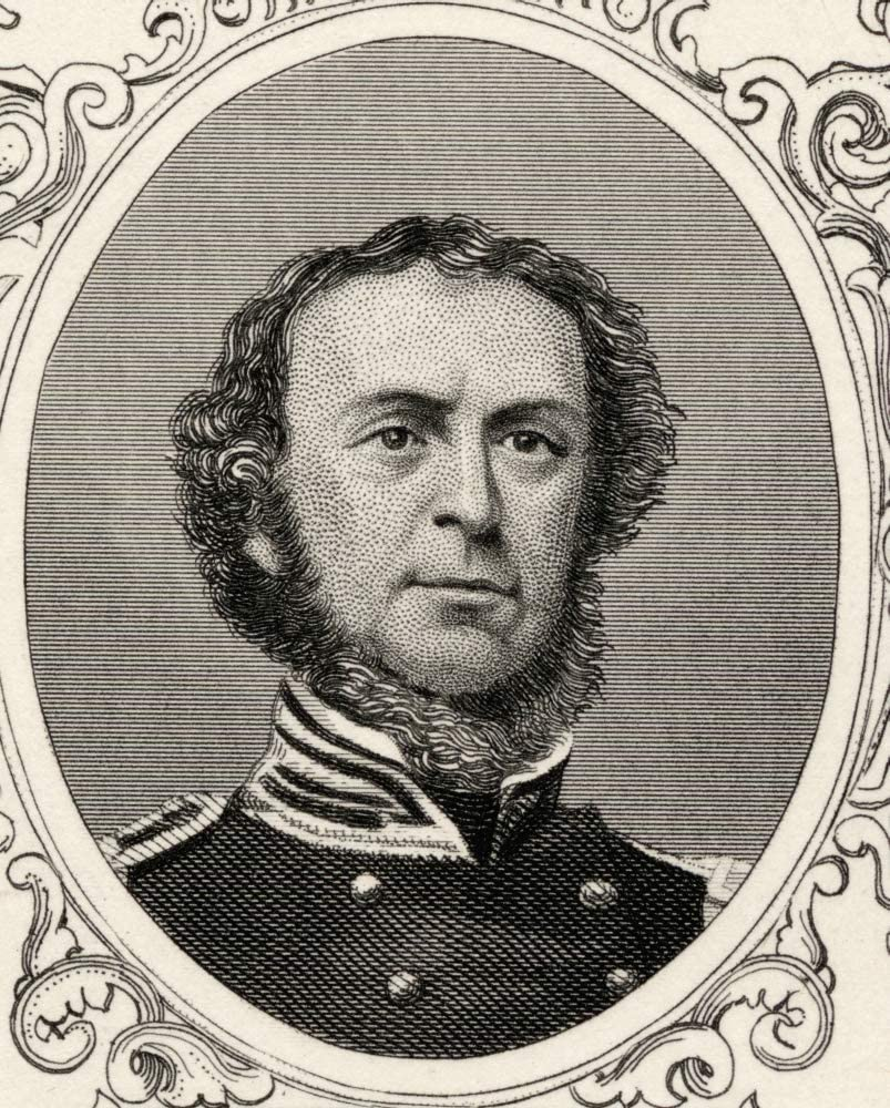 Posterazzi DPI1839386LARGE Samuel Francis Du Pont,1803-1865. Union Naval Commander During The American Civil War and Rear Admiral in The United States Navy Photo Print, 26 x 32, Multi
