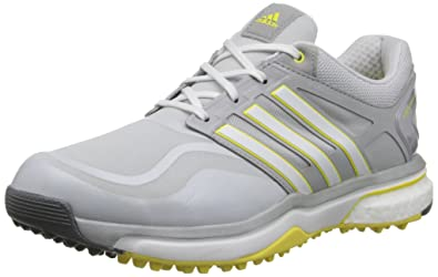 cheap for discount 73ca9 d0e0f adidas Golf Womens Adipower Sport Boost, Clear GreyRunning WhiteLight  Yellow,