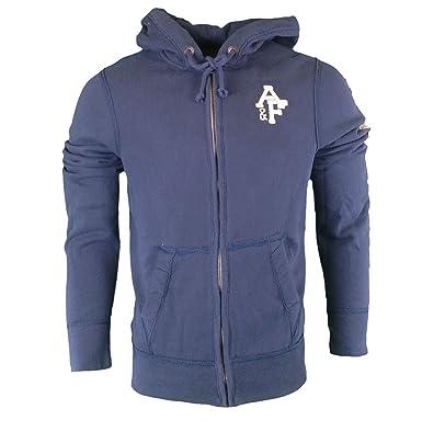 Abercrombie & Fitch - Sudadera con capucha - Manga Larga - para hombre azul marino 50