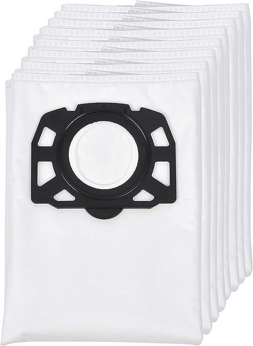 8 Pack Bolsas de Fitro, para aspiradora Karcher WD4 WD5 WD6 WD5 / Premium / MV4 / MK5 / MV6 de KEEPOW: Amazon.es: Hogar