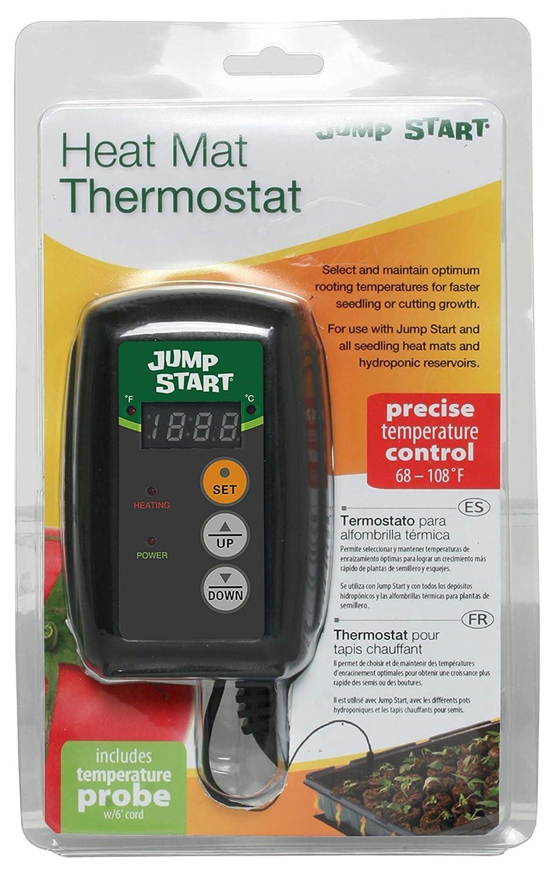 2 MTPRTC HYDROFARM Hydroponic Seed Heat Mat Digital Temperature Controllers