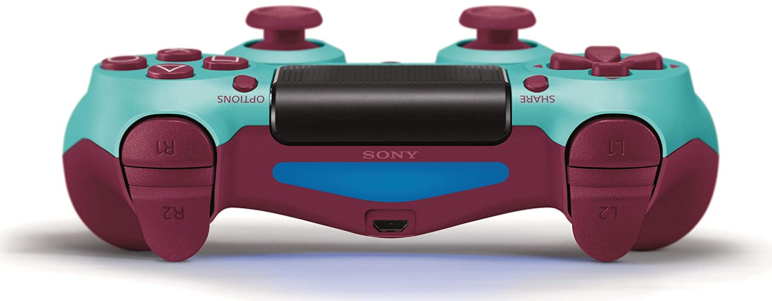 Berry Blue DualShock 4 Wireless Controller for PlayStation 4